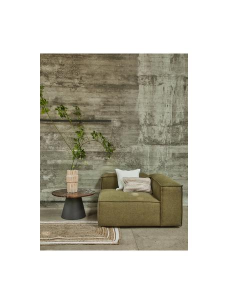 Handgewebte Jute-Fussmatte Clover, 100% Jute, Beige, 50 x 80 cm