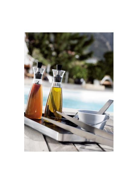Aceitera o vinagrera de diseño Eva Solo, Vidrio, acero inoxidable, plástico, Transparente, negro, acero inoxidable, 0.5 L