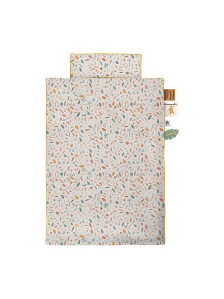 Ropa de cama en jersey Junior Wildlife, 2pzas., Multicolor, 100 x 135 cm