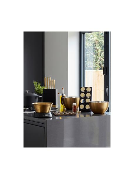 Waga kuchenna Master Class, Mosiężny, czarny, Ø 26 x W 24 cm