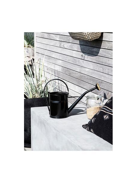 Konewka Granny, Metal lakierowany, Czarny, odcienie mosiądzu, S 13 x W 25 cm