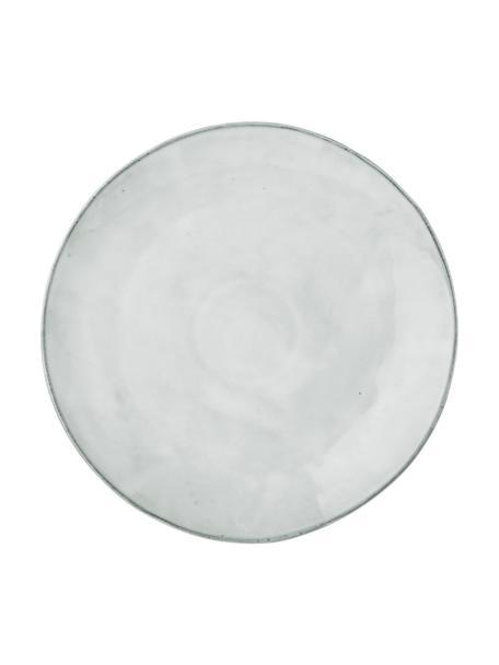Ręcznie wykonana podstawka pod talerz z kamionki Nordic Sand, 4 szt., Kamionka, Piaskowy, Ø 30 cm