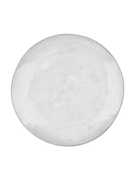 Handgemachte Platzteller Nordic Sand Ø 31 cm aus Steingut, 4 Stück, Steingut, Sand, Ø 31 cm