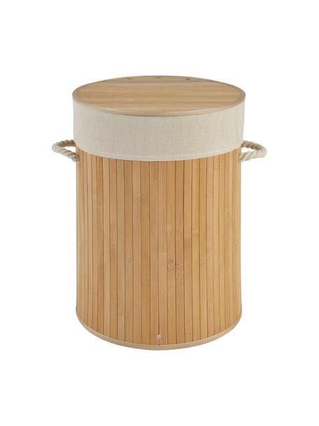 Wäschekorb Brimsdown, Korb: Bambus, Braun, Ø 37 x H 50 cm