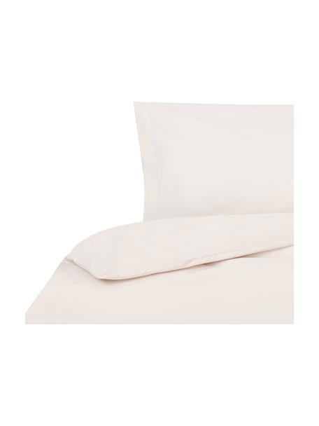 Funda nórdica Plain Dye, Algodón El algodón da una sensación agradable y suave en la piel, absorbe bien la humedad y es adecuado para personas alérgicas, Crema, Cama 90 cm (160 x 220 cm)