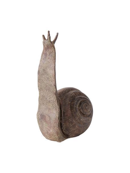 Deko-Objekt Broca, Kunststoff, Braun, 14 x 27 cm
