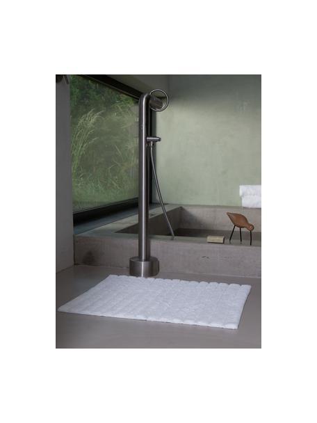 Tappeto bagno morbido Board, 100% cotone, qualità pesante, 1900g/m², Bianco, Larg. 50 x Lung. 60 cm