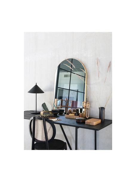 Houten stoel Retro met Weens vlechtwerk, Zwart, B 45 x D 54 cm