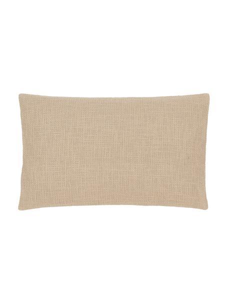 Poszewka na poduszkę Anise, 100% bawełna, Beżowy, S 30 x D 50 cm