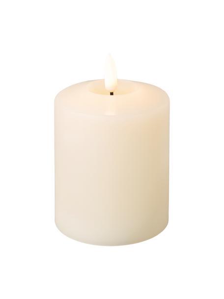 Świeca LED z wosku zasilana na baterie Boka, 2 szt., Wosk, Kremowobiały, Ø 8 x W 12 cm