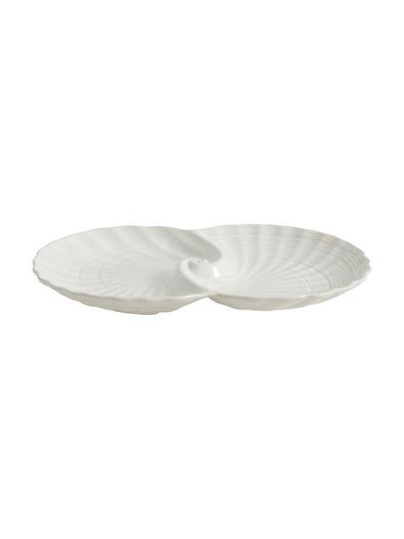 Ciotola decorativa Gullfoss, Ceramica, Bianco, Larg. 30 x Prof. 20 cm