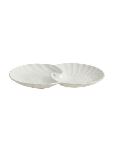 Miska dekoracyjna Gullfoss, Ceramika, Biały, S 30 x G 20 cm