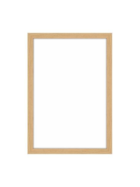 Cornice in legno Duo, Cornice: alluminio, sventati, Retro: Pannelli di fibra a media, Marrone chiaro, 10 x 15 cm