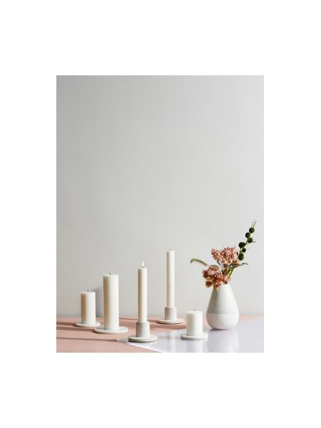 Steekkaarsen Classic, 10 stuks, Paraffinewas, Wit, Ø 2 x H 19 cm
