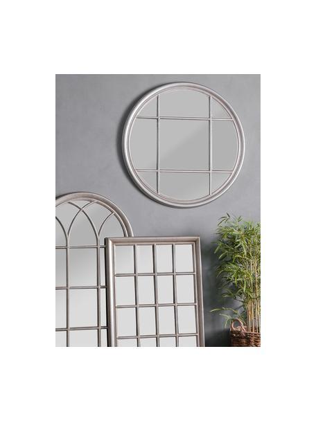 Specchio rotondo da parete Eccleston, Cornice: legno, verniciato, Superficie dello specchio: lastra di vetro, Argentato, Ø 100 cm