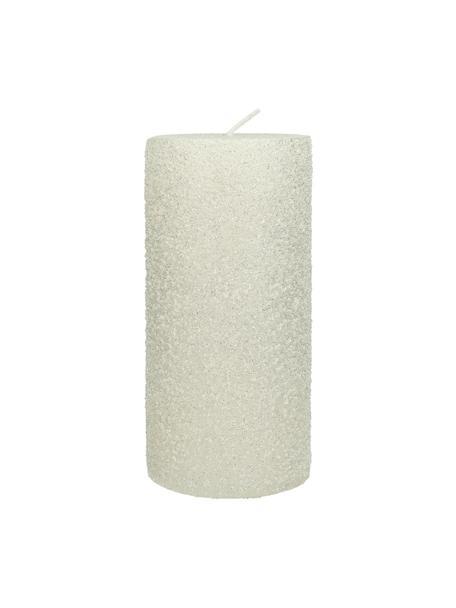 Świeca pieńkowa Flair, Wosk, Biały, Ø 7 x W 15 cm