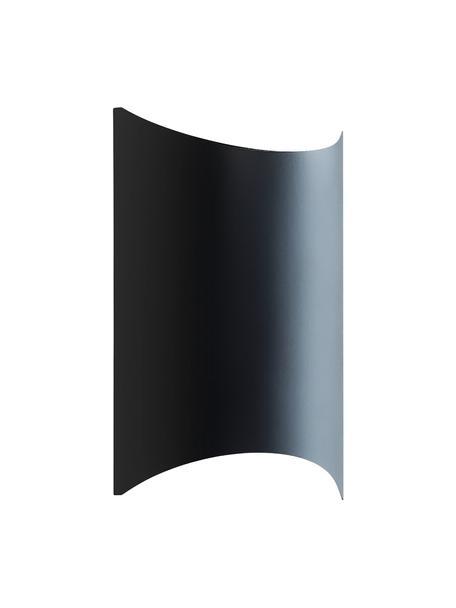 Aplique LED para exterior Lagasco, Lámpara: acero galvanizado, Negro, An 19 x F 28 cm