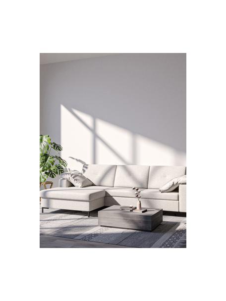 Sofa narożna z funkcją spania i miejscem do przechowywania Moor, Tapicerka: 100% poliester z systemem, Stelaż: drewno liściaste, drewno , Nogi: drewno lakierowane Dzięki, Jasny beżowy, S 260 x G 162 cm