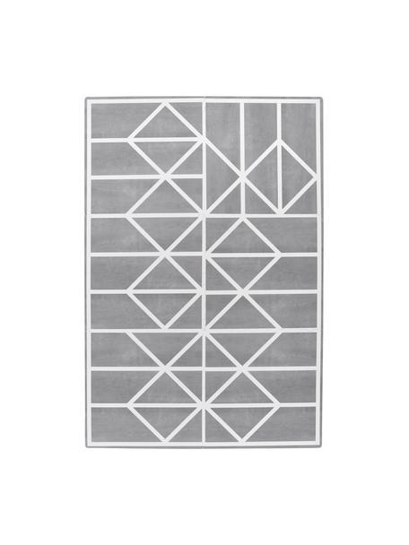 Uitbreidbare speelmatset Nordic, 18-delig, Schuimstof (EVAC), vrij van schadelijke stoffen, Grijs, crèmekleurig, 120 x 180 cm