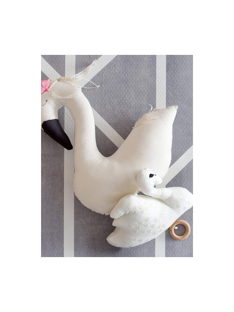 Tappeto da gioco Nordic 18 pz, Schiuma (EVAC), priva di sostanze inquinanti, Grigio, crema, Larg. 120 x Lung. 180 cm