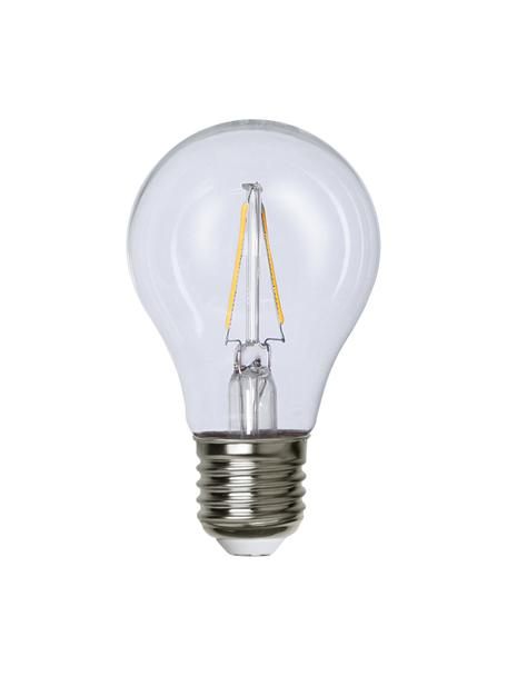 E27 Leuchtmittel, 220lm, warmweiss, 3 Stück, Leuchtmittelschirm: Glas, Leuchtmittelfassung: Aluminium, Transparent, Ø 6 x H 11 cm