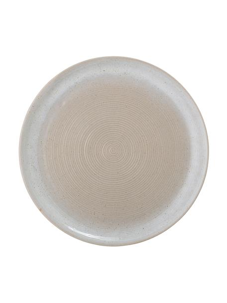 Dinerborden Taupe met effectvol glazuur, 2 stuks, Keramiek, Grijs, Ø 27 cm
