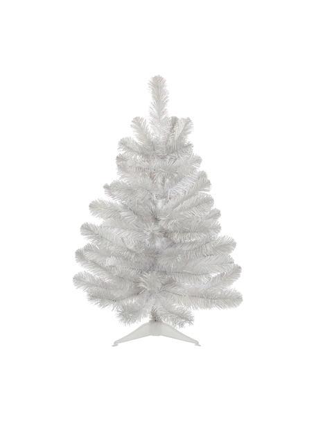 Künstlicher Weihnachtsbaum Icelandic H 60 cm, Kunststoff, Weiß, irisierend, Ø 46 x H 60 cm