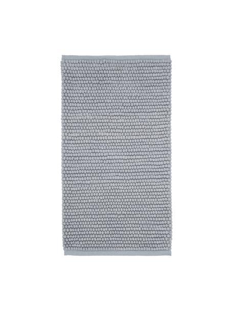 Wollen vloerkleed Pebble in lichtgrijs, 80% Nieuw-Zeelandse wol, 20% nylon Bij wollen vloerkleden kunnen vezels loskomen in de eerste weken van gebruik, dit neemt af door dagelijks gebruik en pluizen wordt verminderd., Grijs, B 80 x L 150 cm (maat XS)