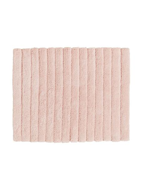 Tappeto bagno morbido rosa Board, 100% cotone, qualità pesante, 1900g/m², Rosa, Larg. 50 x Lung. 60 cm