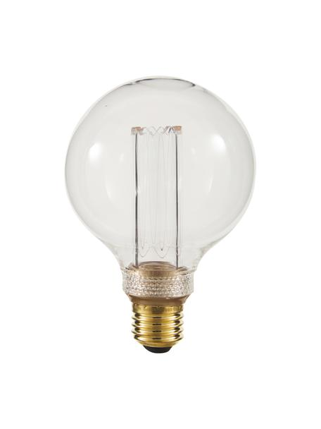 E27 XL-peertje, 2.5 watt, dimbaar, warmwit, 1 stuk, Fitting: messing, Amberkleurig, Ø 10 x H 15 cm