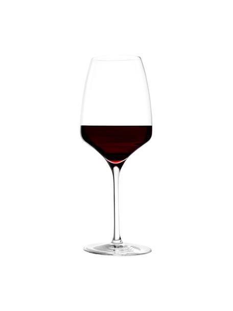 Rode wijnglazen Experience, 6 stuks, Kristalglas, Transparant, Ø 8 x H 23 cm
