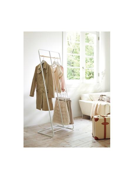 Wieszak na ubrania z metalu Towi, Stelaż: metal malowany proszkowo, Biały, S 61 x W 163 cm