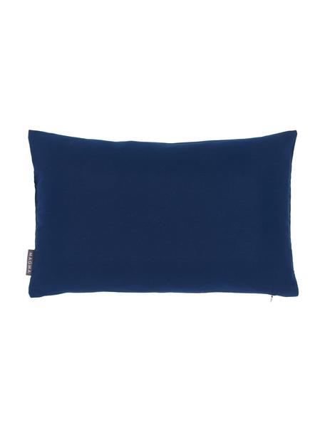 Federa arredo da esterno blu scuro Blopp, Dralon (100% poliacrilico), Blu scuro, Larg. 30 x Lung. 47 cm