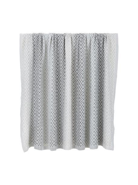 Narzuta z bawełny Dia, 100% bawełna, Czarny, biały, S 180 x D 235 cm (do łóżek o wymiarach do 140 x 200)