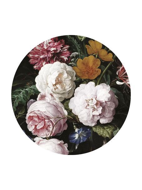 Fotobehang Golden Age Flowers, Vlies, mat, milieuvriendelijk en biologisch afbreekbaar, Multicolour, Ø 190 cm