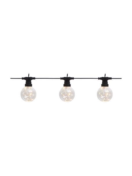LED lichtslinger Big Cirkus, 950 cm, 10 lampions, Lampions: kunststof, Zwart, L 950 cm