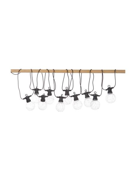 Outdoor LED-Lichterkette Big Cirkus, 950 cm, 10 Lampions, Lampions: Kunststoff, Schwarz, L 950 cm