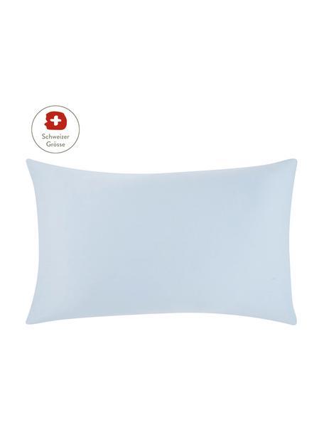 Baumwollsatin-Kissenbezug Comfort in Hellblau, 65 x 100 cm, Webart: Satin, leicht glänzend Fa, Hellblau, 65 x 100 cm