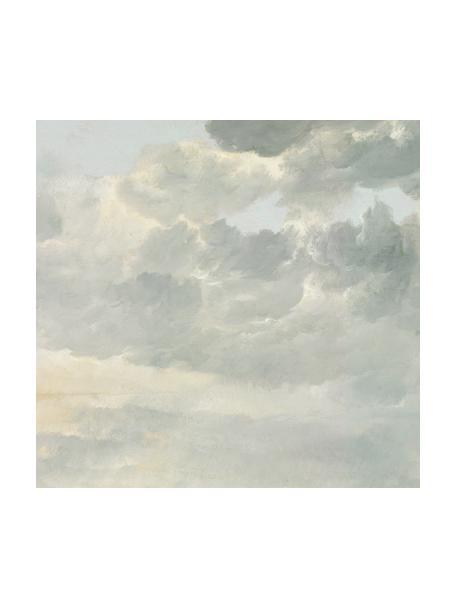 Fotomural Golden Age Clouds, Tejido no tejido, ecológica y biodegradable, Gris, beige mate, An 292 x Al 280 cm