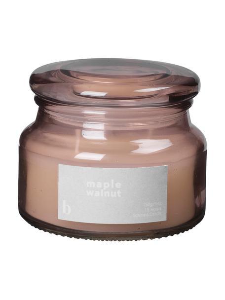 Świeca zapachowa Maple Walnut (orzech włoski), Brudny różowy, Ø 10 x W 8 cm