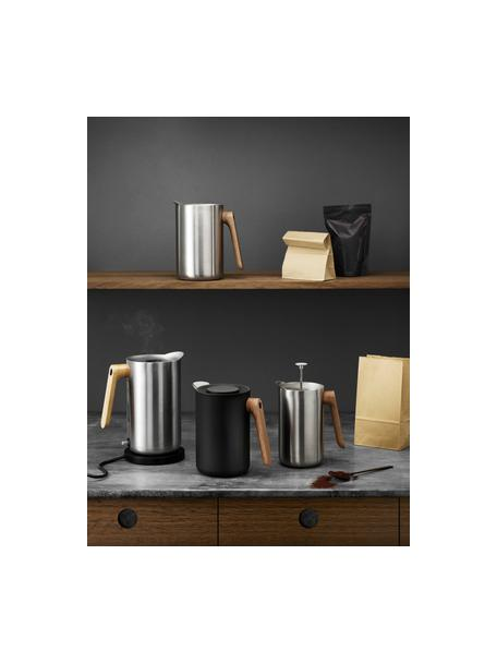 Wasserkocher Nordic Kitchen, Griff: Eichenholz, Edelstahl, Eichenholz, 1.5 L
