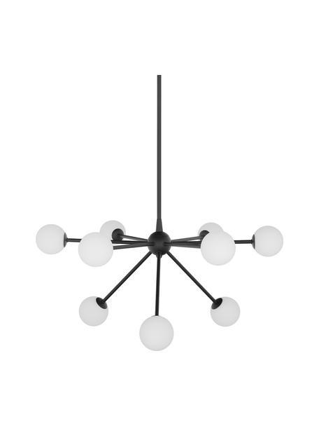 Duża lampa wisząca Space, Czarny, S 81 x G 71 cm