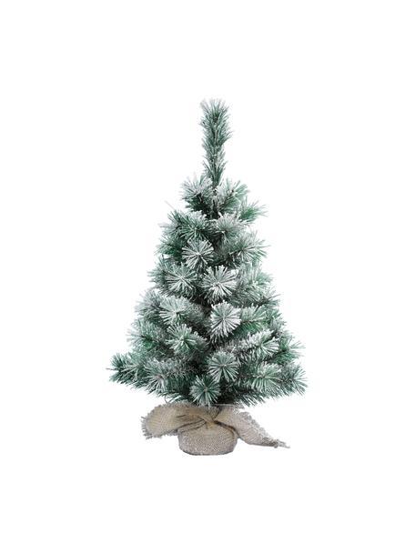Künstlicher Weihnachtsbaum Vancouver, beschneit, Grün, Weiß, Ø 26 x H 45 cm