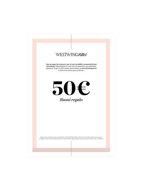 Buono regalo stampabile, Buono regalo digitale, dopo aver ricevuto il pagamento riceverai una e-mail con il link al tuo buono regalo. Basta salvare il file PDF e stamparlo, Turchese, 50
