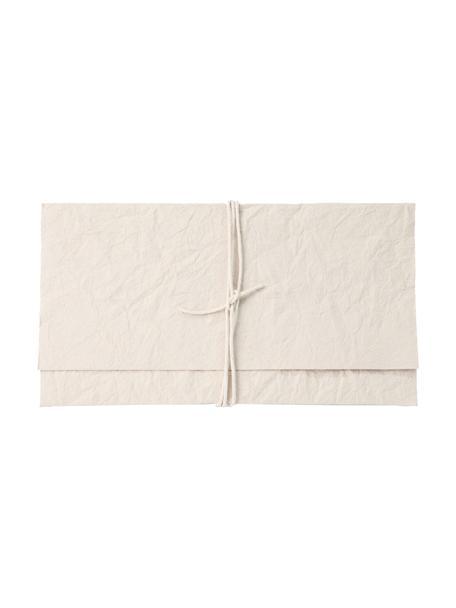 Okładka Soft, Papier, Odcienie kremowego, S 27 x W 15 cm