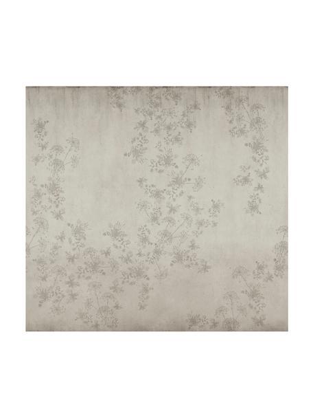 Papel pintado mural Wildflowers, Tejido no tejido, Beige, An 300 x Al 280 cm