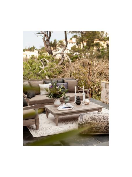 Tavolo basso da giardino/da esterno in teak Bali, Legno di teak, possiede le certificazioni FSC, Teak, Larg. 120 x Alt. 30 cm