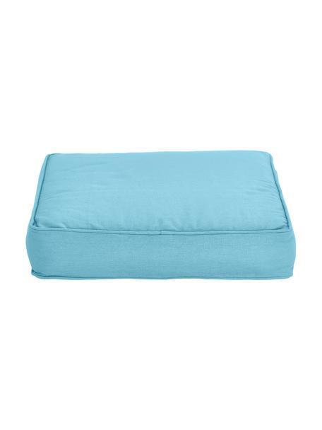 Cuscino sedia blu Zoey, Rivestimento: 100% cotone, Blu, Larg. 40 x Lung. 40 cm