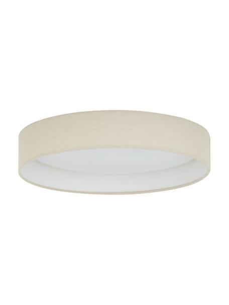 Plafoniera a LED color taupe Helen, Cornice: metallo, Taupe, Ø 35 x Alt. 7 cm