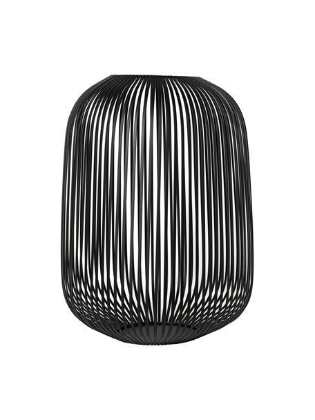 Lanterna Lito, Metallo rivestito, Nero, Ø 33 x Alt. 45 cm
